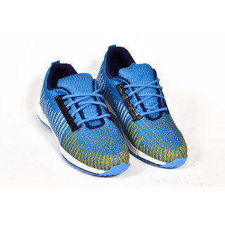 Kizzaro Sky blue Sporty Look Air mesh Light weight Cool design Casual Shoes