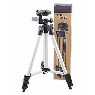 PS GOODS HOUSE 3110 Tripod Compatible for Mobile Phones, Cameras. Give Your Photos, Videos and Pictures a Perfect Shot E