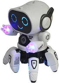 OSM ENTERPRISES  Baby Toy,s Bot Robot Pioneer Colorful Lights and Music All Direction Movement  Dancing Robot Toys for