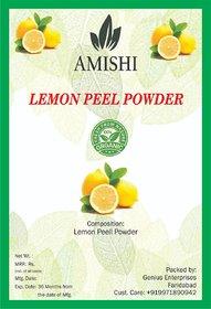 Amishi 100% Natural, Organic Face Cleanser Powder Lemon Peel,  1000gm
