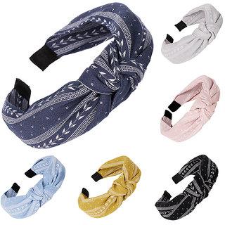 Bow Knot Headband Twist Knot Hairband Cross Knot Headband (Pack of 1)