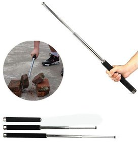 JGG Self Defence Heavy Metal and Extandable Iron Baton Folding Stick