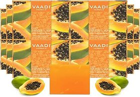 Vaadi Herbals Soft And Flawless Skin Care Papaya Soap (11 x 75 g)