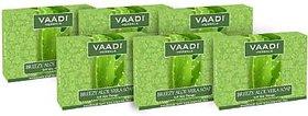 Vaadi Herbals Aloe Vera Handmade Bathing Bar Soap(12 x 75 g)