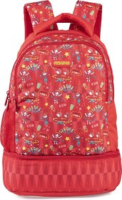 AMERICAN TOURISTER TIDDLE NXT SCHOOL BAG02 C.RD