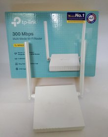 OSM TL-WR820N 300 Mbps Speed Wireless WiFi Router, Easy Setup, IPv6 Compatible, Supports Parent Control, Guest Network,