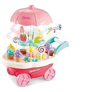 30pcs Ice Cream trolly toy