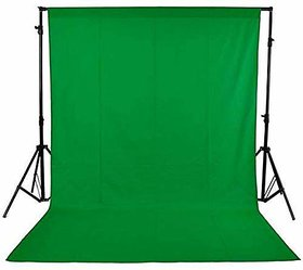 Stookin 8x10 Feet Background for Photo Studio and Outdoor Photography Chrome Dark Green Lekera Cloth