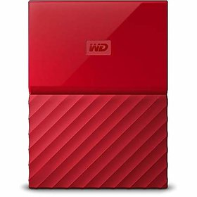 WD My Passport 4TB Portable External Hard Drive (Red)