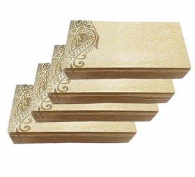 Pack of 100 Designer Envelopes for Wedding / Any Occasion Shagun Lifafa Random Color random Design