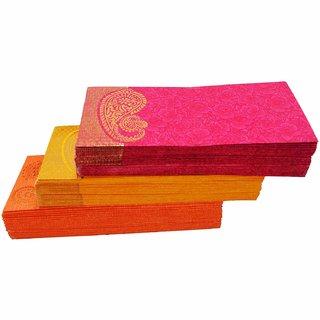 Combo Pack of 100 Designer Envelopes for Any Occasion Shagun Lifafa Random Color random Design