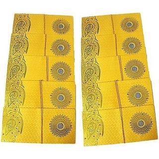 Pack of 100 Coin Designer Envelopes for Wedding / Any Occasion Shagun Lifafa Random Color random Design