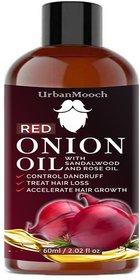 UrbanMooch Red Onion Oil for Hair Growth 60ml
