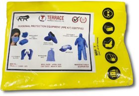 Terrace Personal Protection Equipment (PPE Kit)