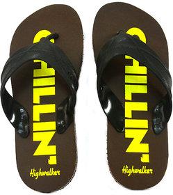 HighWalker Brown Daily Slippers