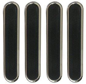 UNIVERSAL COMPACT CAR DOOR GUARD Black Ultra Thin Transparent Car Door Guards