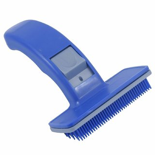 REGAL Dog Cat Grooming Automatic Pet Trimmer Comb (Blue, Medium)