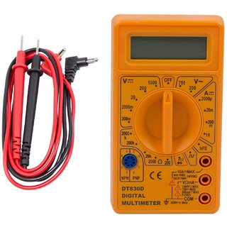 Digital Multimeter DT830D With LCD Display