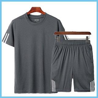 Combo of 29K Grey Casual T-Shirt And Shorts