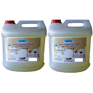 Sodium Hypochlorite 10 Liquid COMBO PACK OF TWO