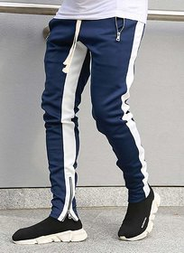 Navy Trackpant For Men