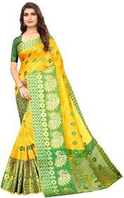 Meia New Arrivals Designer Jaquard Banarasi Silk Sarees