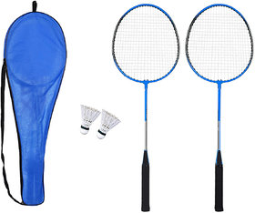 G-Plus Badminton Racket Combo Pack With 2 Pieces Nylon Shuttlecock