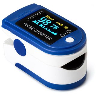 Lionix Heart Rate Finger Pulse Oximeter + OLED Digital Finger Pulse Oximeter With Pulse and Heart Rate Monitor