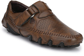 Big Fox Men's Brown Sandals