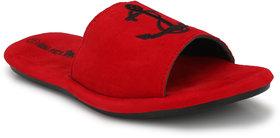 Big Fox Men's Red Slippers