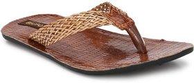 Big Fox Men's Brown Slippers
