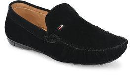Big Fox Men's Black Loafers