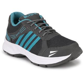 Big Fox Men's Grey Running Shoe