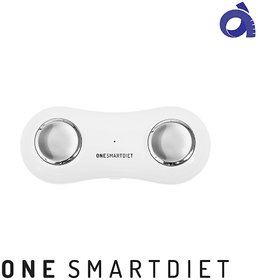 One Smartdiet - Body Composition Analyzer, Bluetooth Connection, Bmi, Body Fat, Water, Muscle, Basal Metabolic Rate, Calories Calculation, Free App, Portable Tiny Device, Steps Tracker