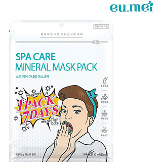 Spa Care Mineral Mask Pack For Moisturizing, Nourshing, Refreshing And Soothing