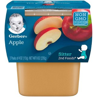 Gerber 2nd Foods for Sitter - Apples (Pack of 3)