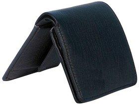 SG Casual Leather Black Short Wallet For Men