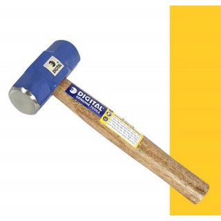 Digital Sledge Hammer 2 LB with Wooden handle