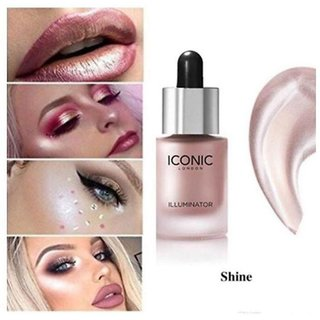 Iconic London Liquid Waterproof Highlighter  Illuminator Shine For Perfect Look