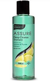 New Assure Deep CLEANSE Shampoo Men  Women (200 Ml)