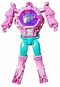 ASU Frozen Deformation Watch - Frozen Transformer Watch for Kids Girls