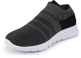 Fausto Men's Grey Sports Walking Shoes