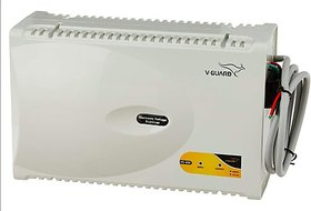 V-Guard VG 400 New for 1.5 Ton AC (170V To 270V) Voltage Stabilizer (Grey)