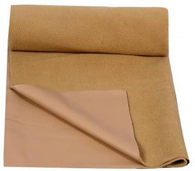 MR Brothers Baby dry sheet water resistance small size (19x27) Inches,Brown- Pack of 1