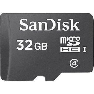 SanDisk 32GB Class 4 microSDHC Flash Memory Card