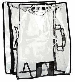 LUGGAGE TRANSPARENT PROTECTIVE 24 INCH TROLLEY BAG COVER