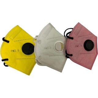 Teean Medstep Ms-n95r Colored Face Mask Anti-foaming Splash And Dustproof F
