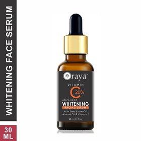Oraya Vitamin C Skin Whitening Glow Nutrient Serum for Men  Women (30 ml)