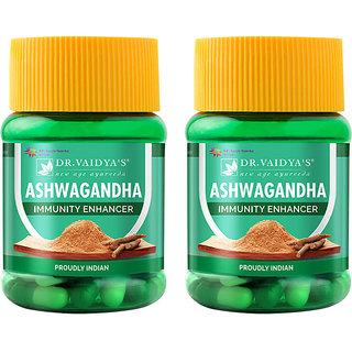 Dr. Vaidya's Ashwagandha Capsules | Immunity Enhancing Capsules | 30 Capsules X Pack of 2