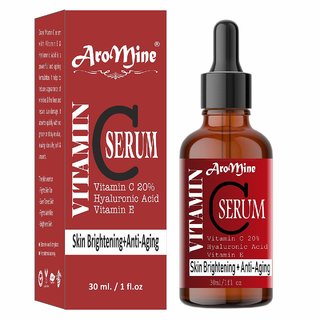 AroMine  Face Serum for Skin Brightening, Anti Ageing, Dark Spots Removal  for Glowing Skin For Men  Women- (30 ml)